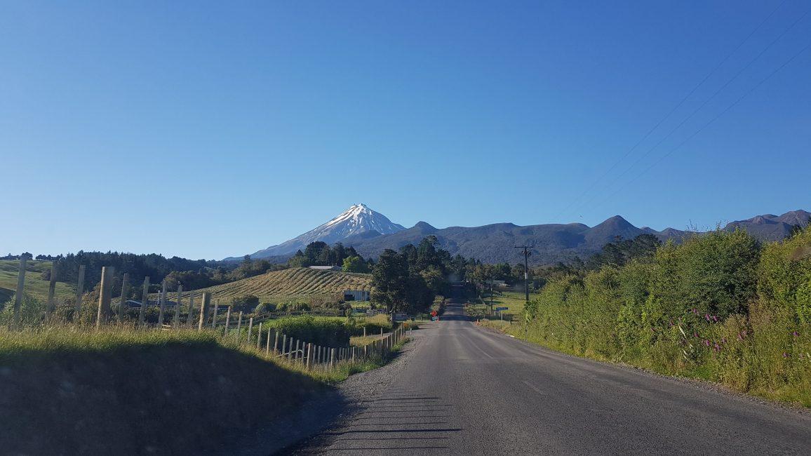 Mangorei Road Mount Taranaki