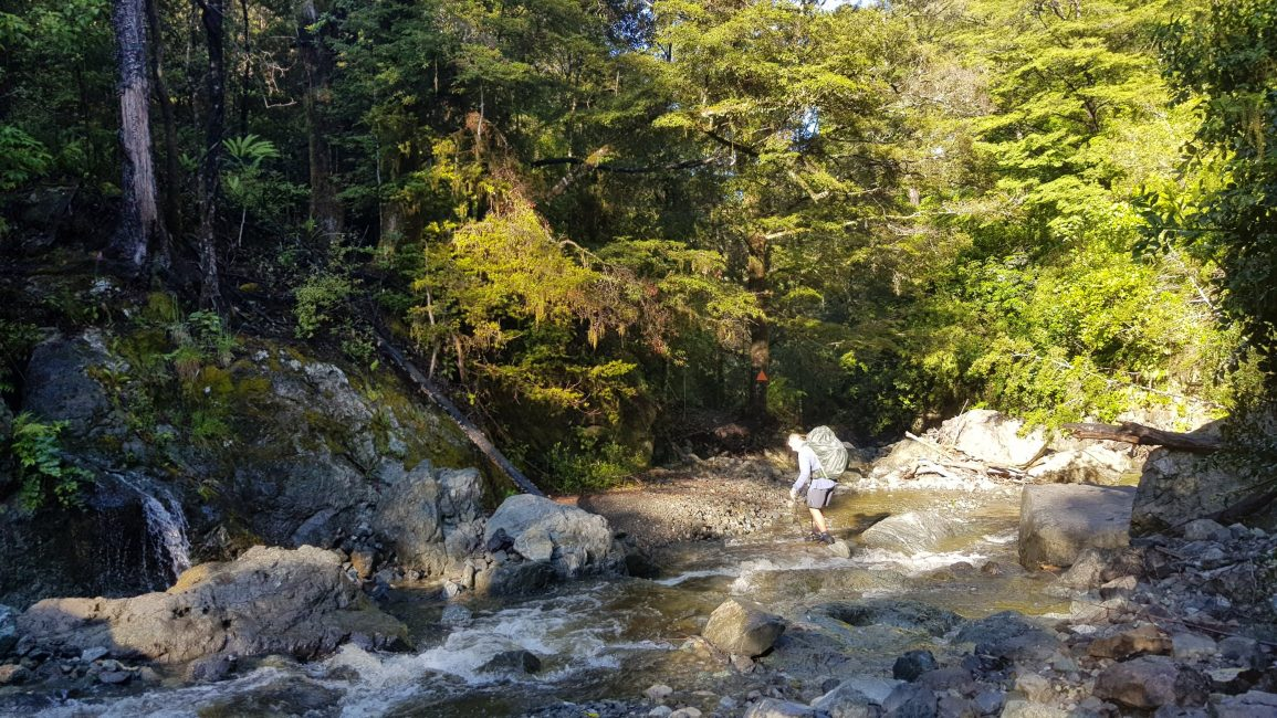 Crossing Hacket Creek