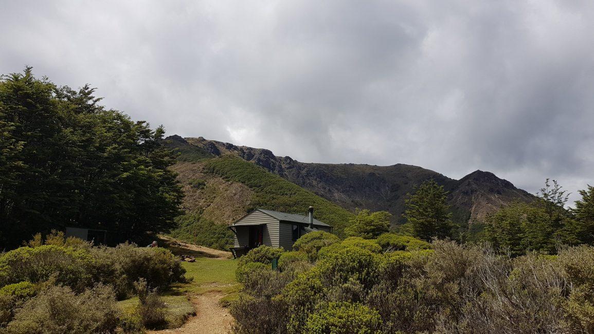 Approaching Starveall hut