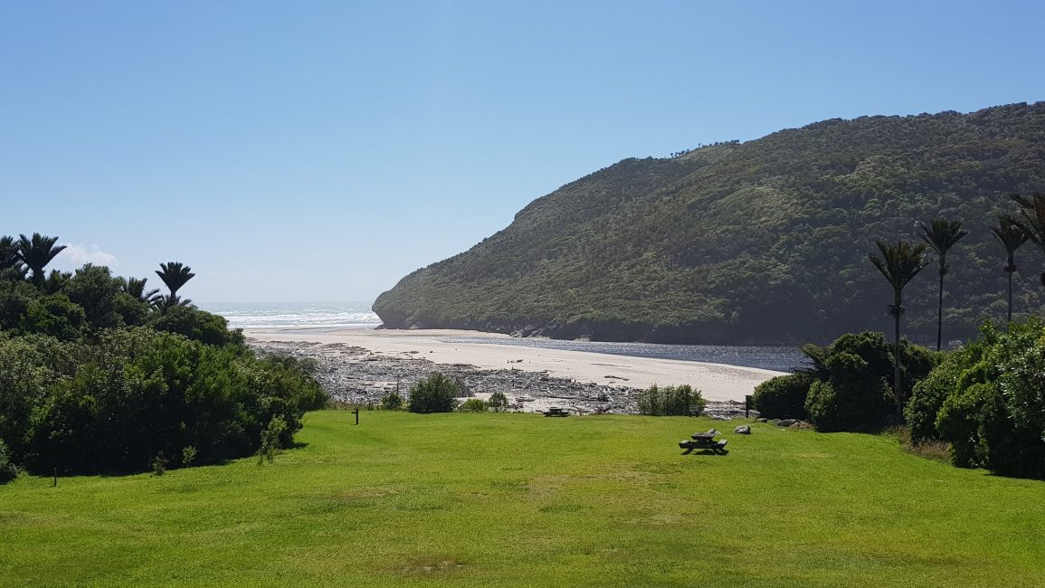 The view from Heaphy hut