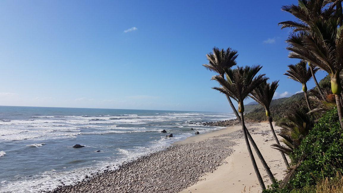 Stunning beaches between Heaphy hut and Katipo Creek campsite