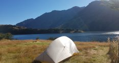 Moke Lake loop track camp