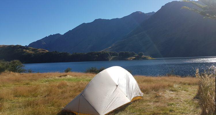 Moke Lake loop track camp