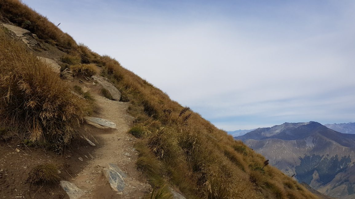 One of the easier parts of the summit climb
