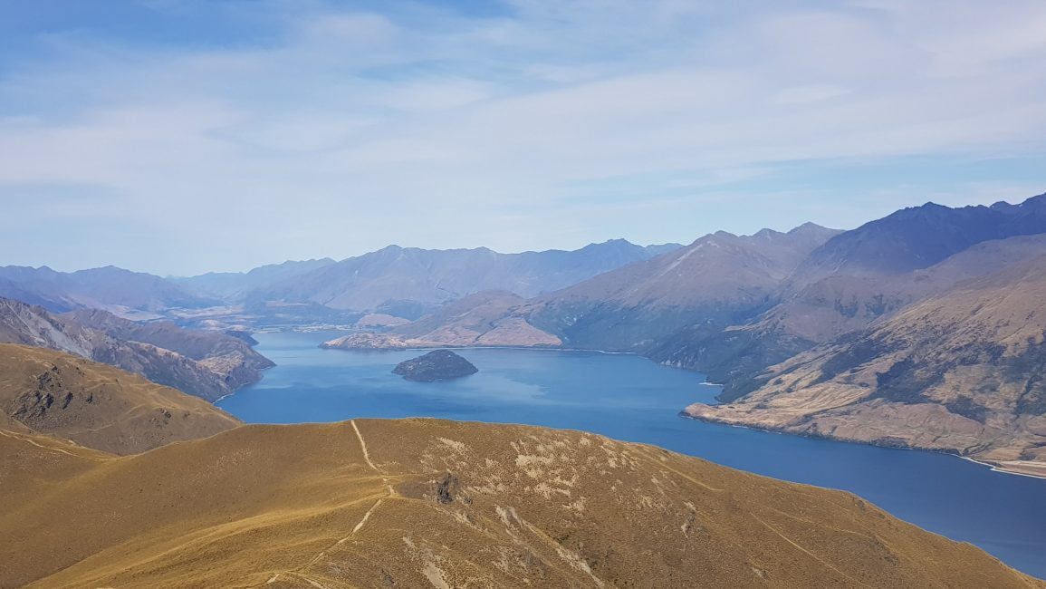 Isthmus Peak towards Wanaka