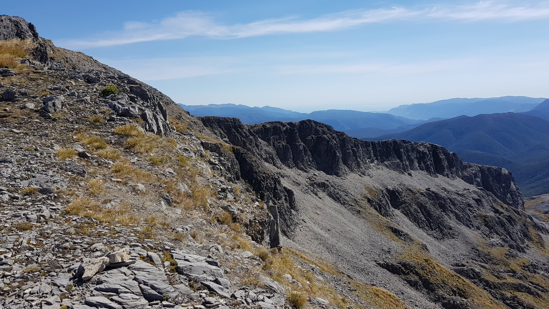 Views across the ridge