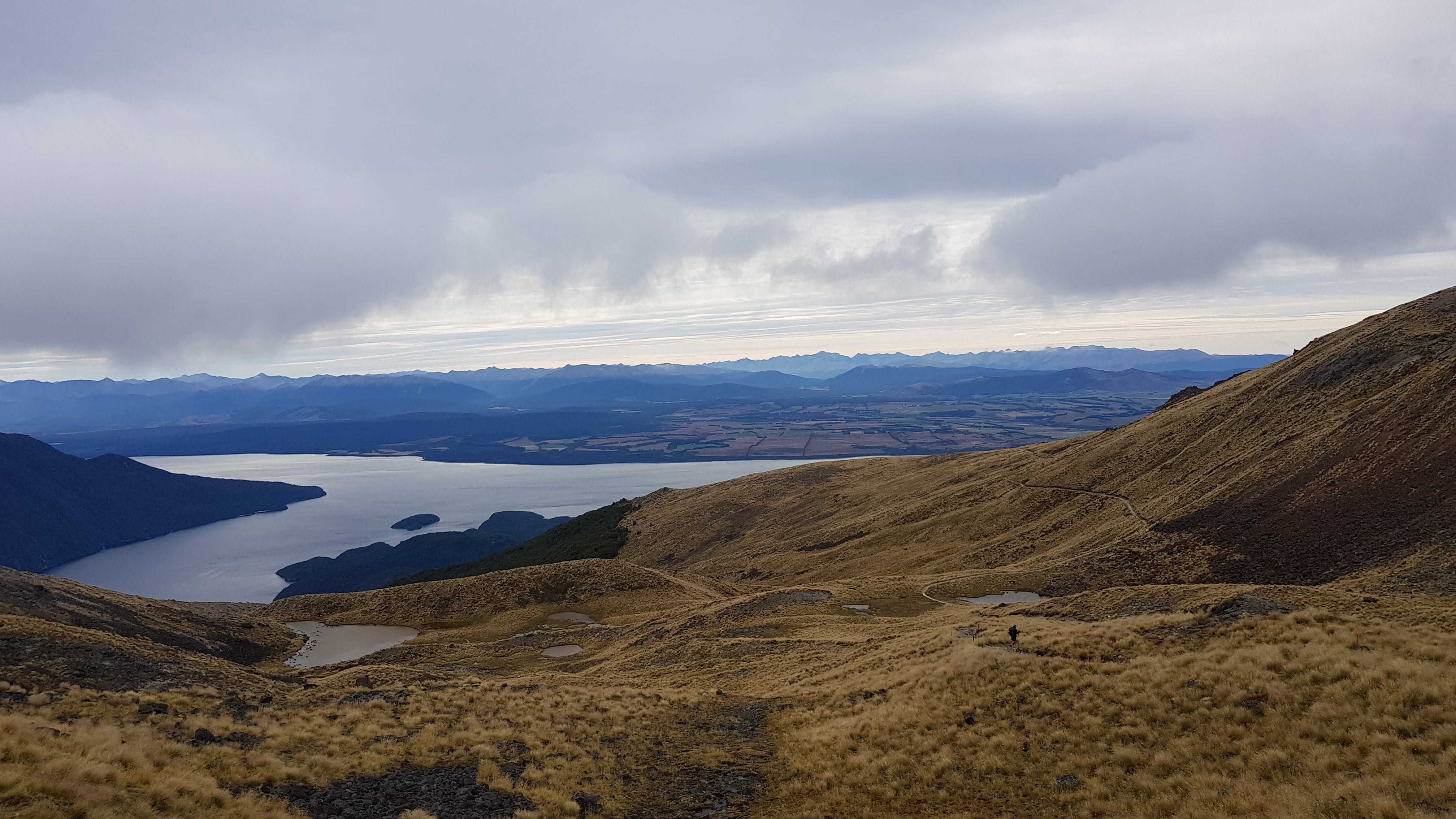 From Luxmore hut to Brod Bay, Lake Te Anau