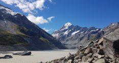Hooker Lake and Aoraki/Mount Cook
