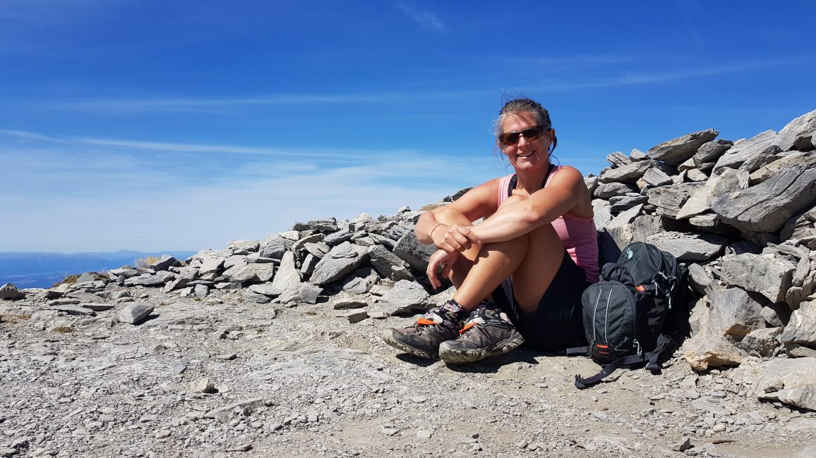 Tinytramper on Mount Arthur Kahurangi National Park
