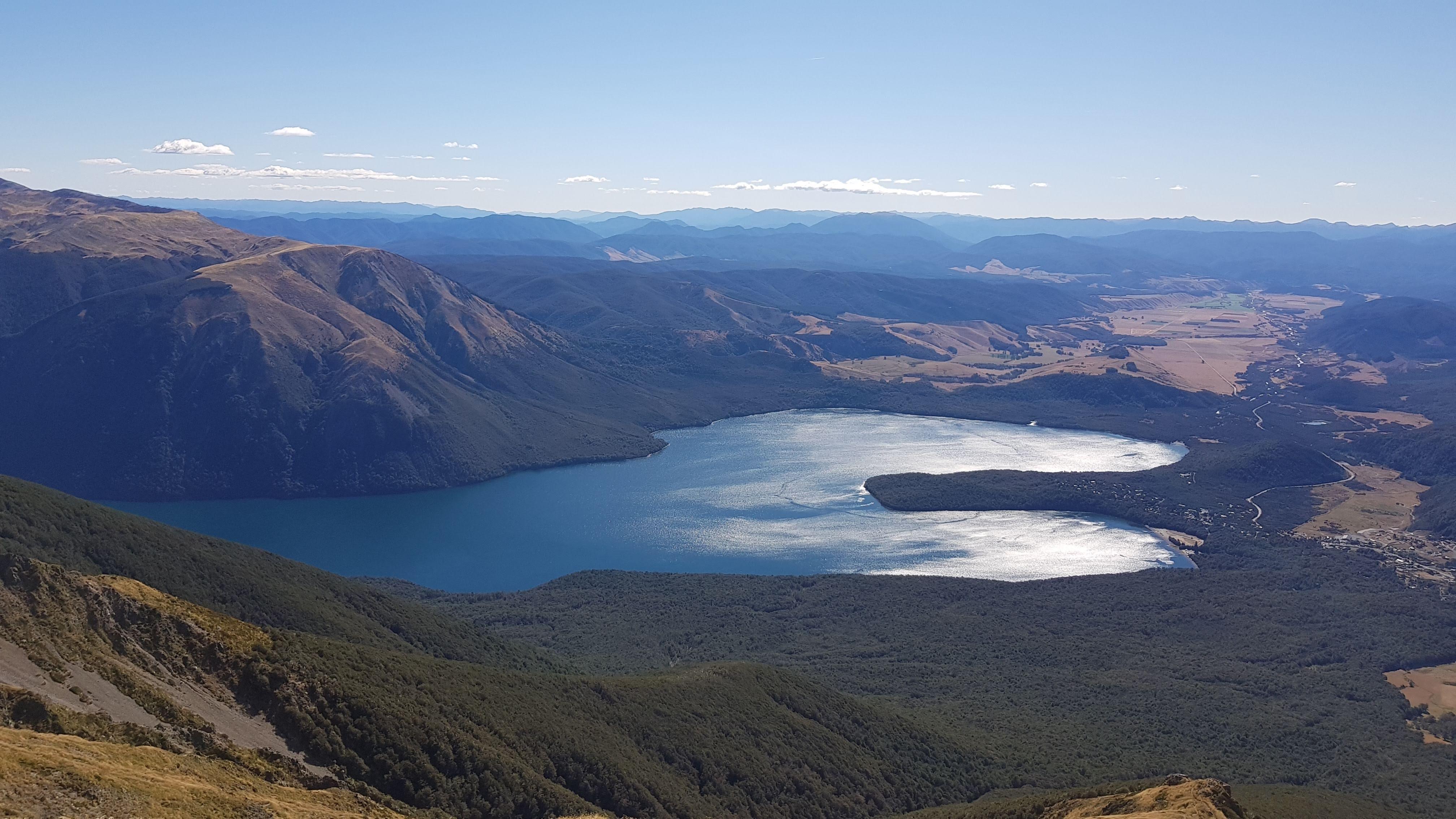 Lake Rotoiti from St Arnaud Range