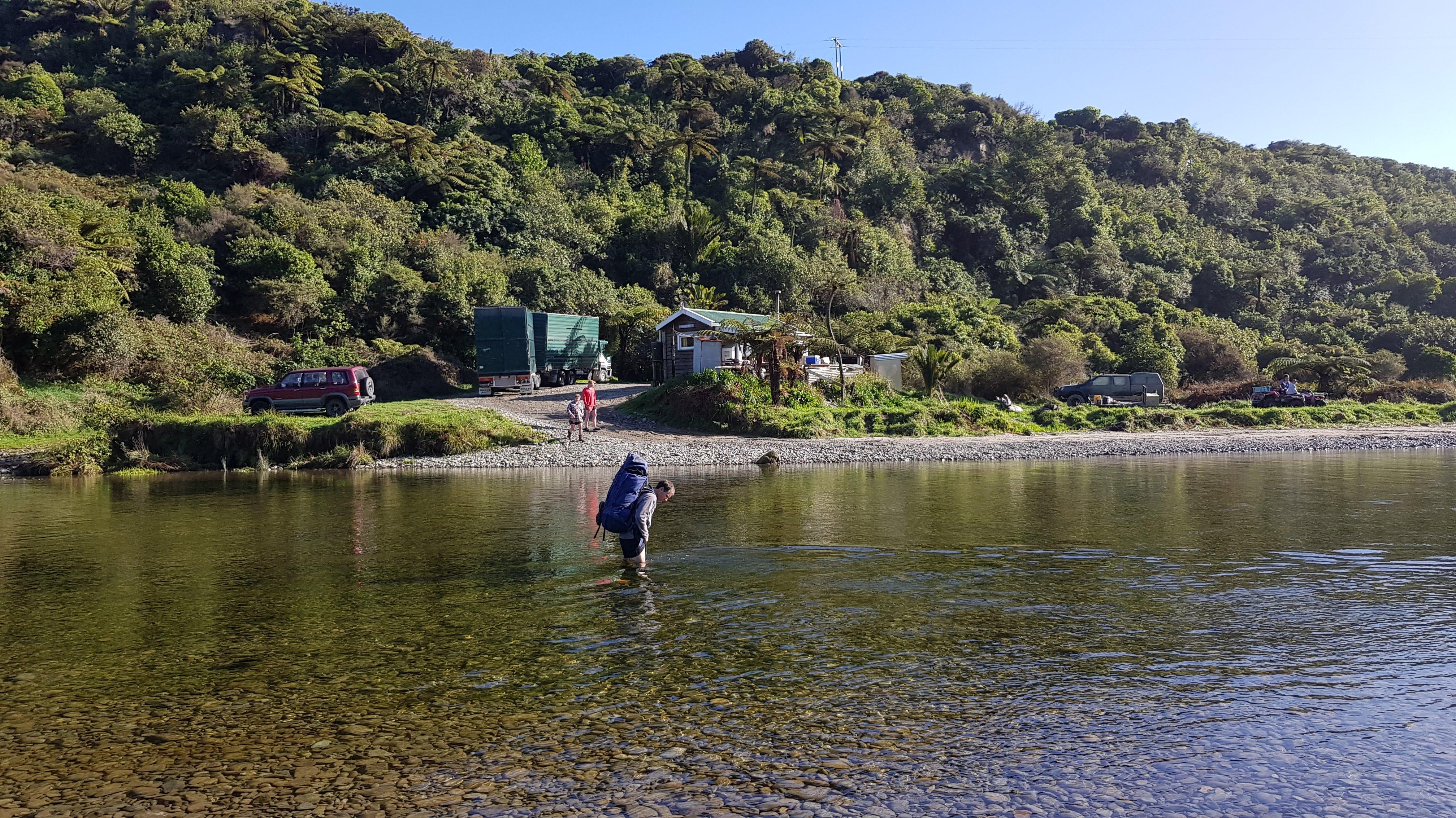 Crossing the Anatori River