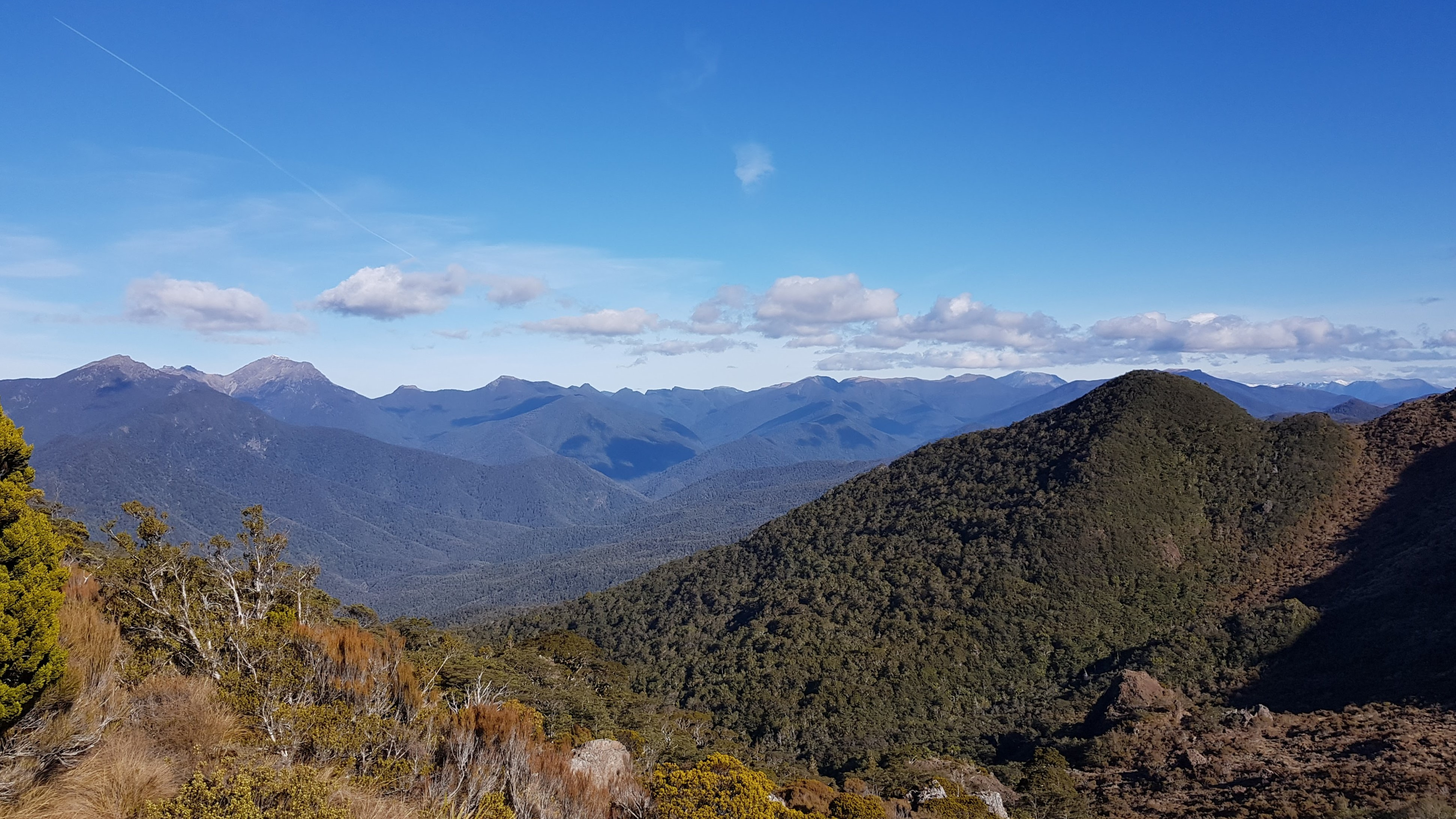 Incredible views over the Richmond ranges