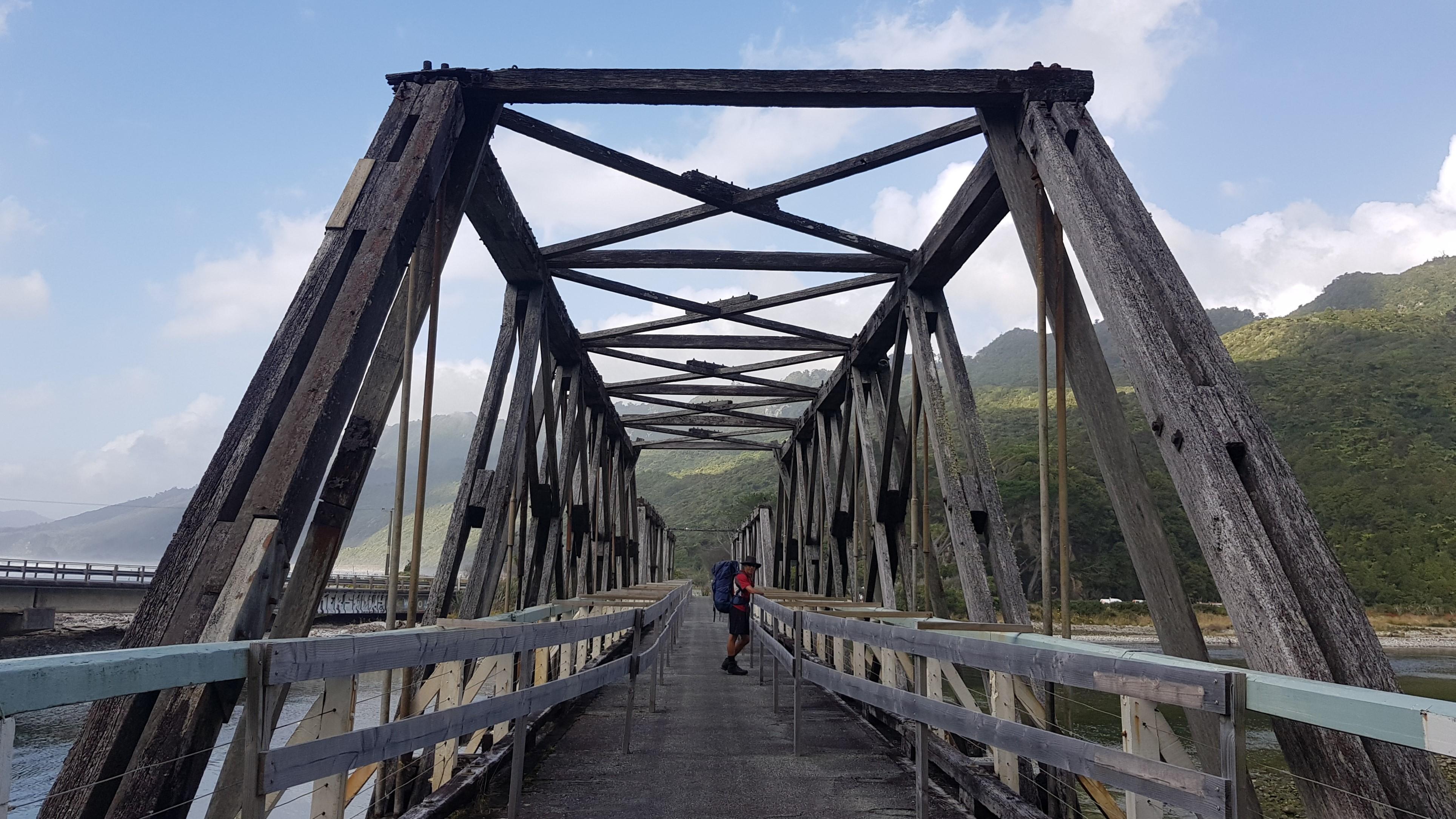 Footbridge at Fox River