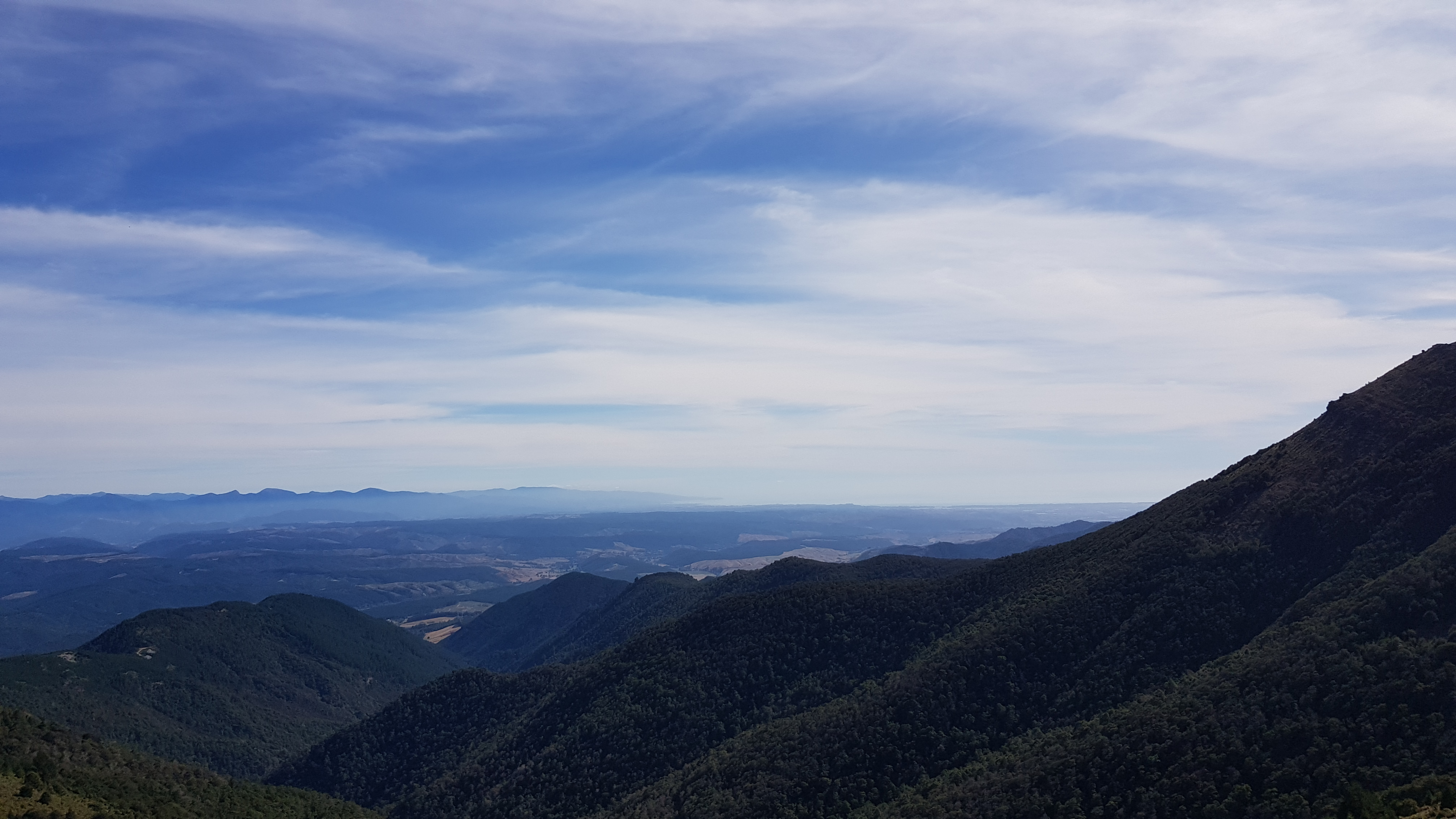 Great views to the Tasman Bay