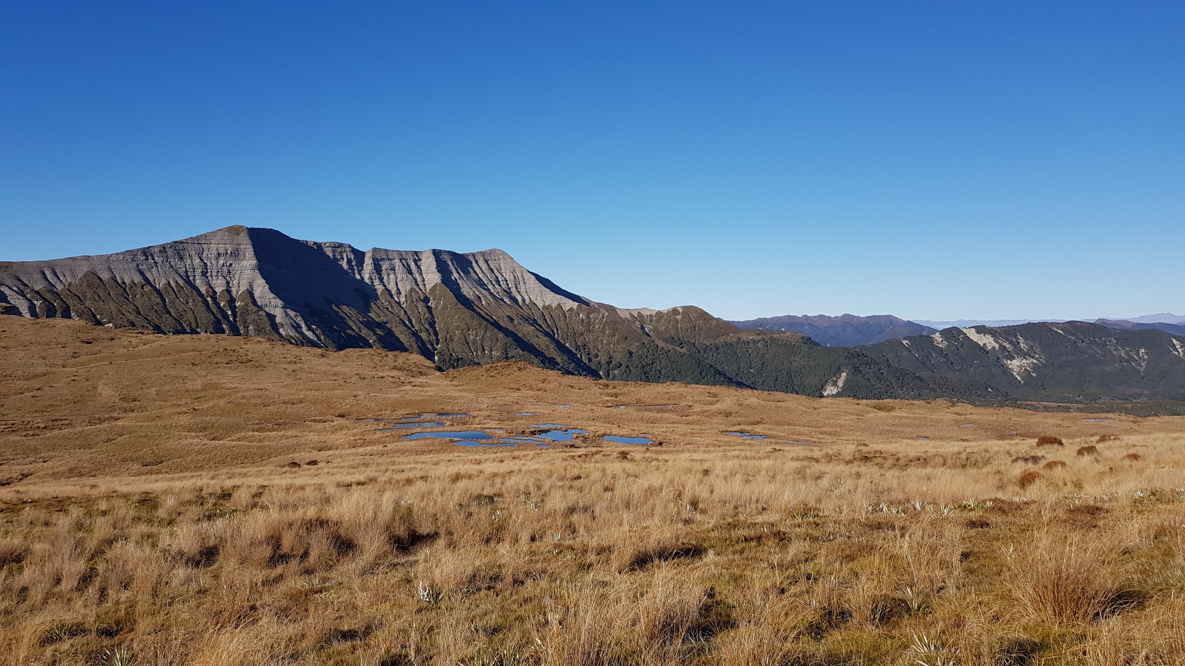 Crossing 100 Acre Plateau