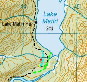 Navigationally challenged at Lake Matiri