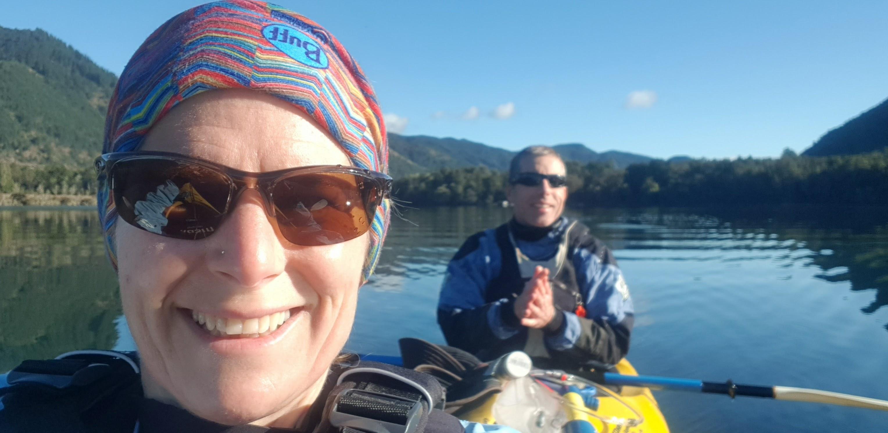 Freezing! On Lake Rotoroa