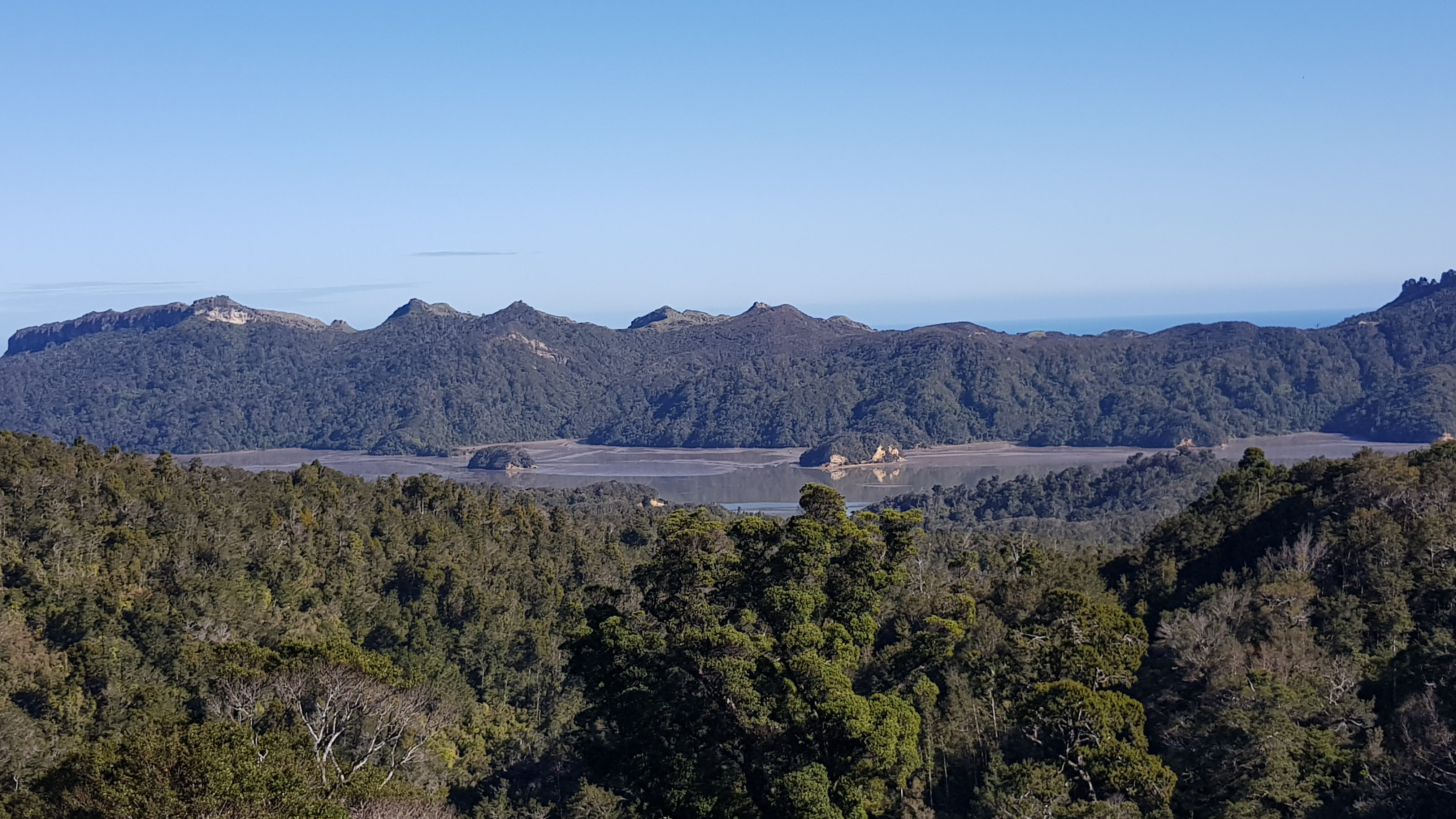Westhaven - Whanganui Inlet from Knuckle Hill