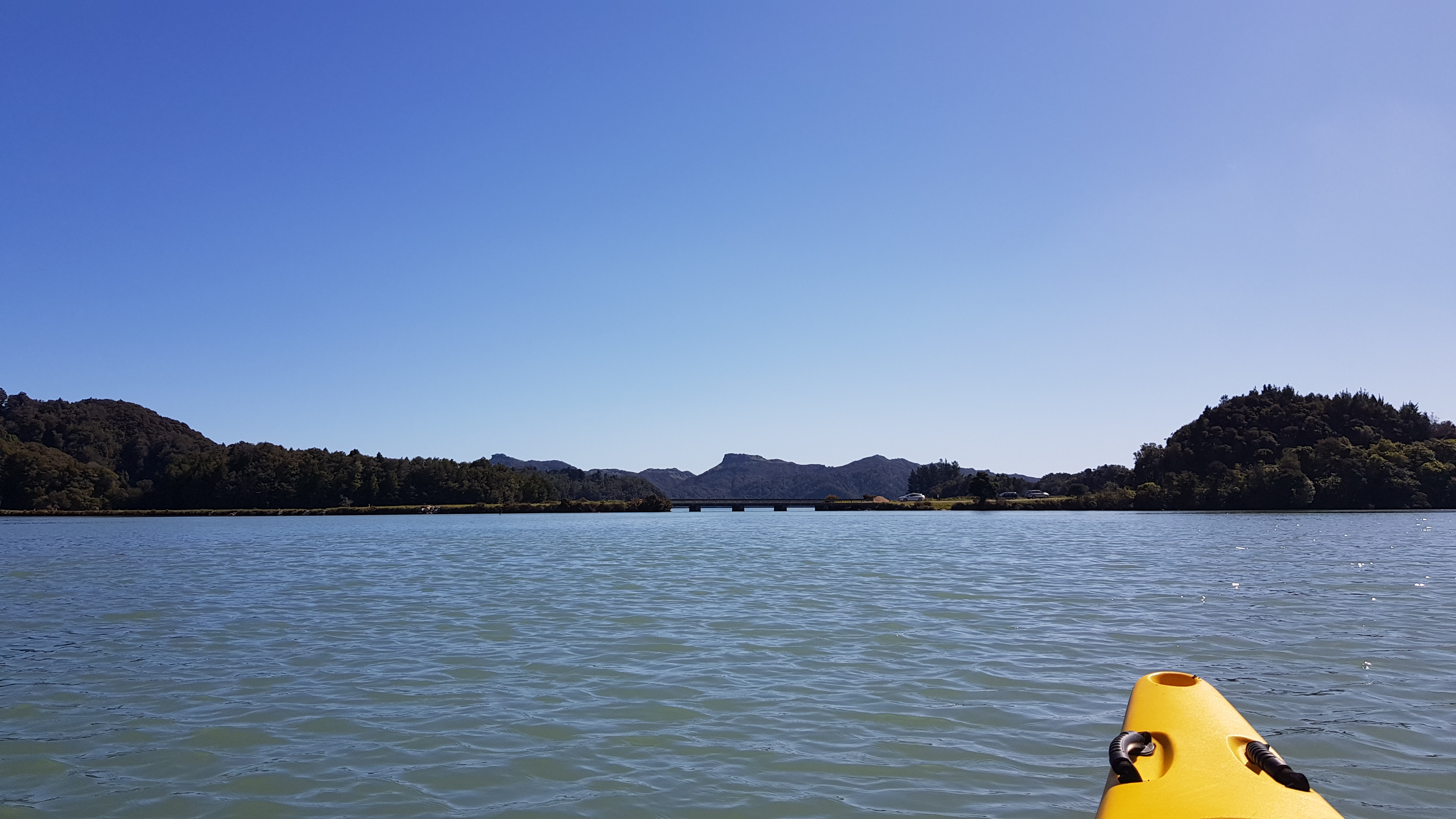 Out of the Wairoa into the Whanganui Inlet