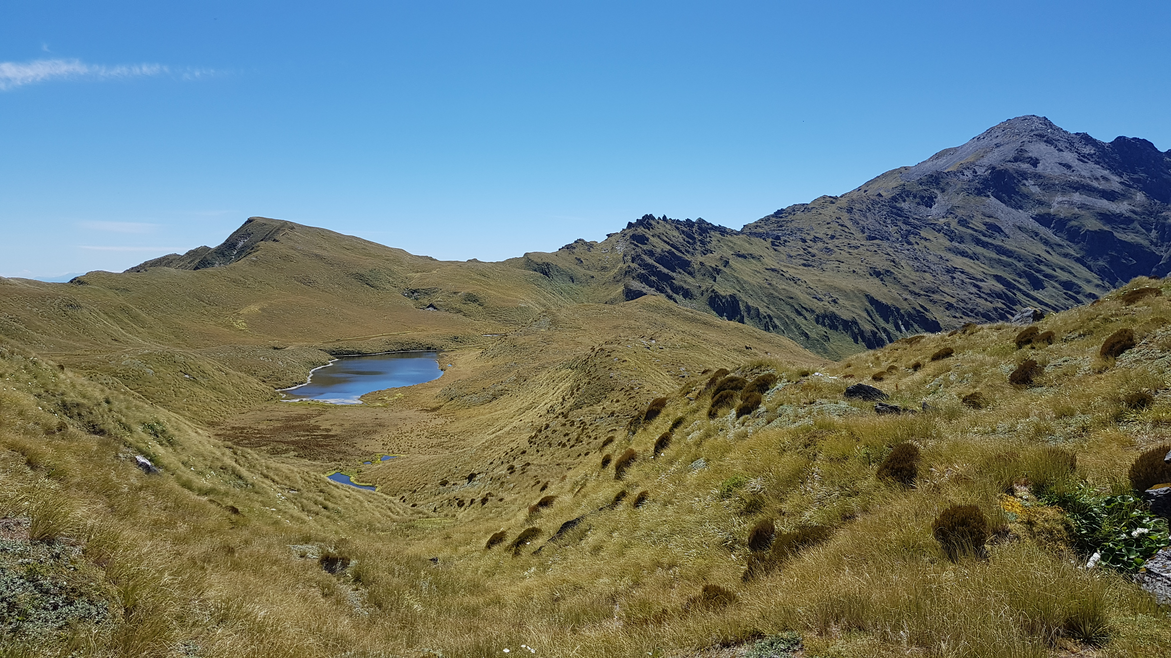 From South of the tarns
