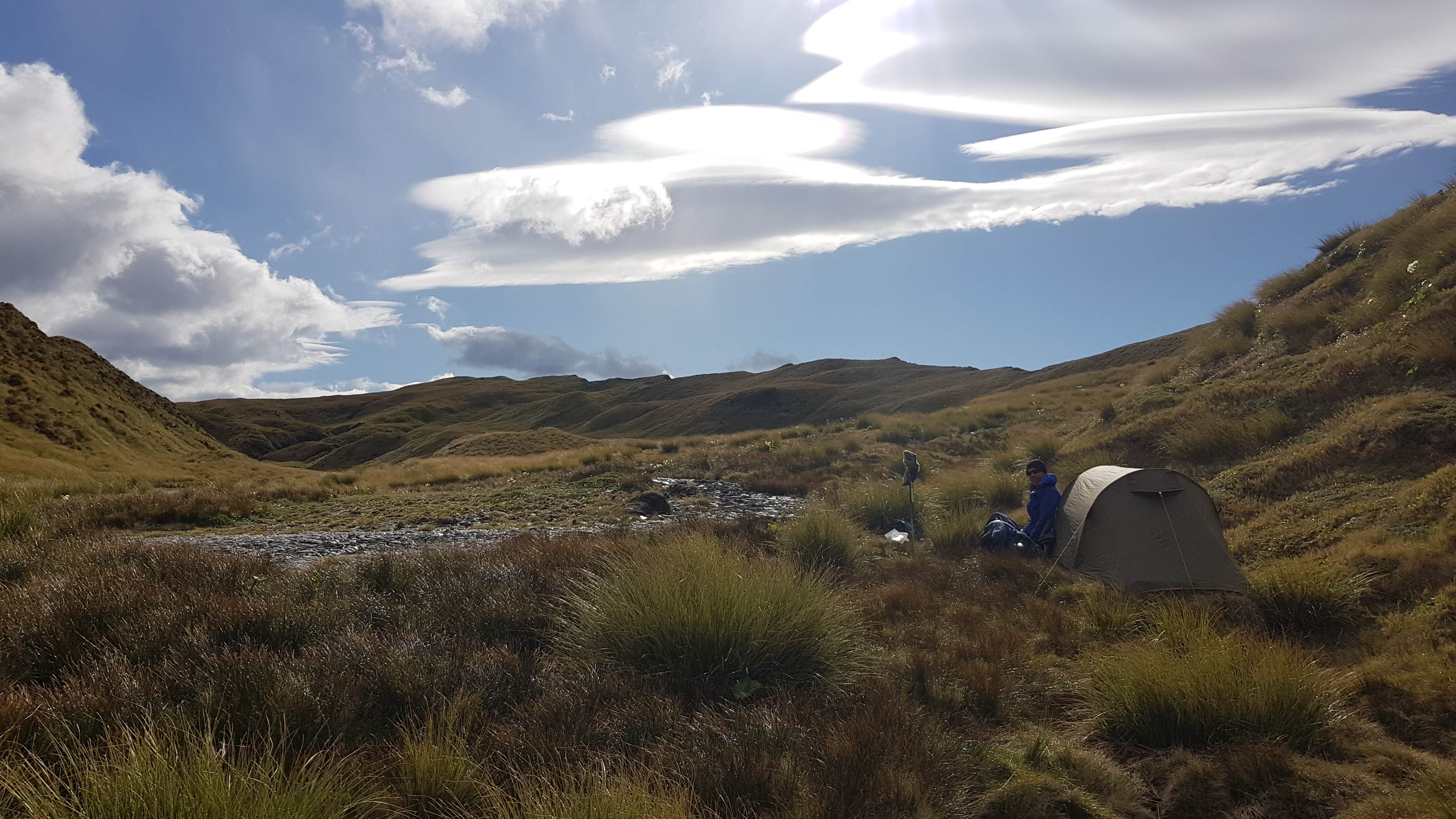 Camping by the tarns