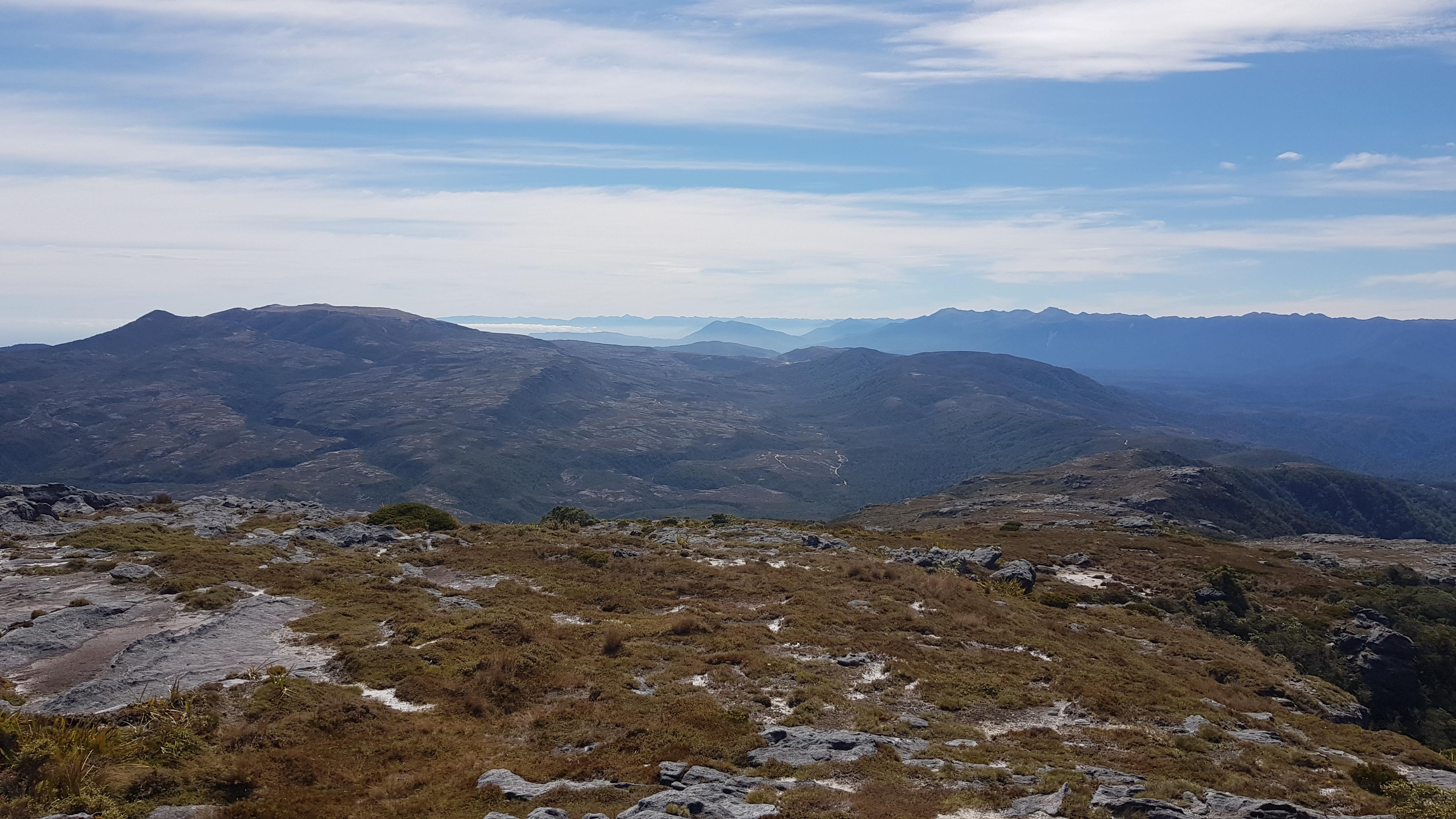 From Mt Willam across the William Range