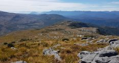 Heading across the tops from Mt William