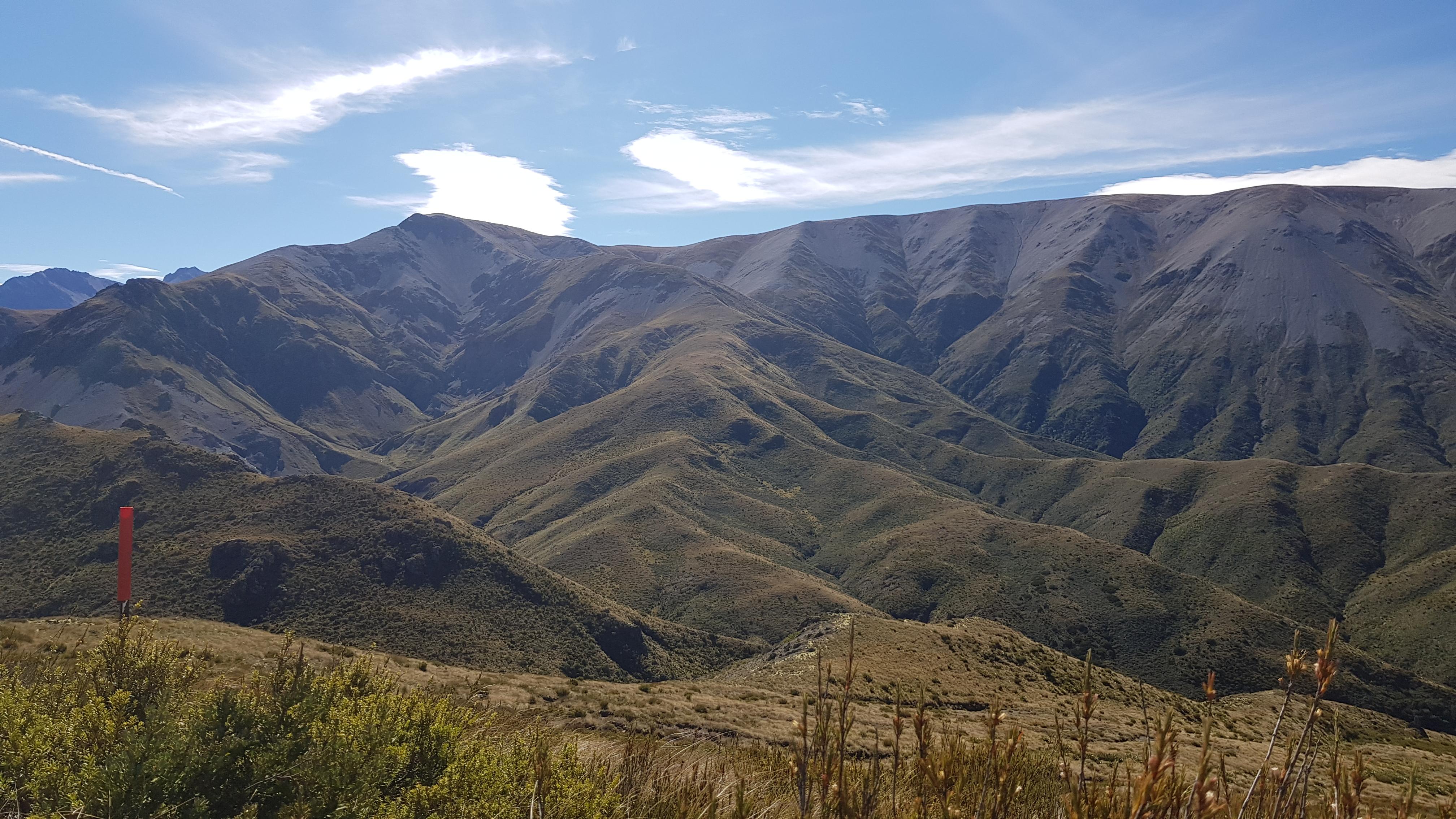 Overlooking the Winterslow Range