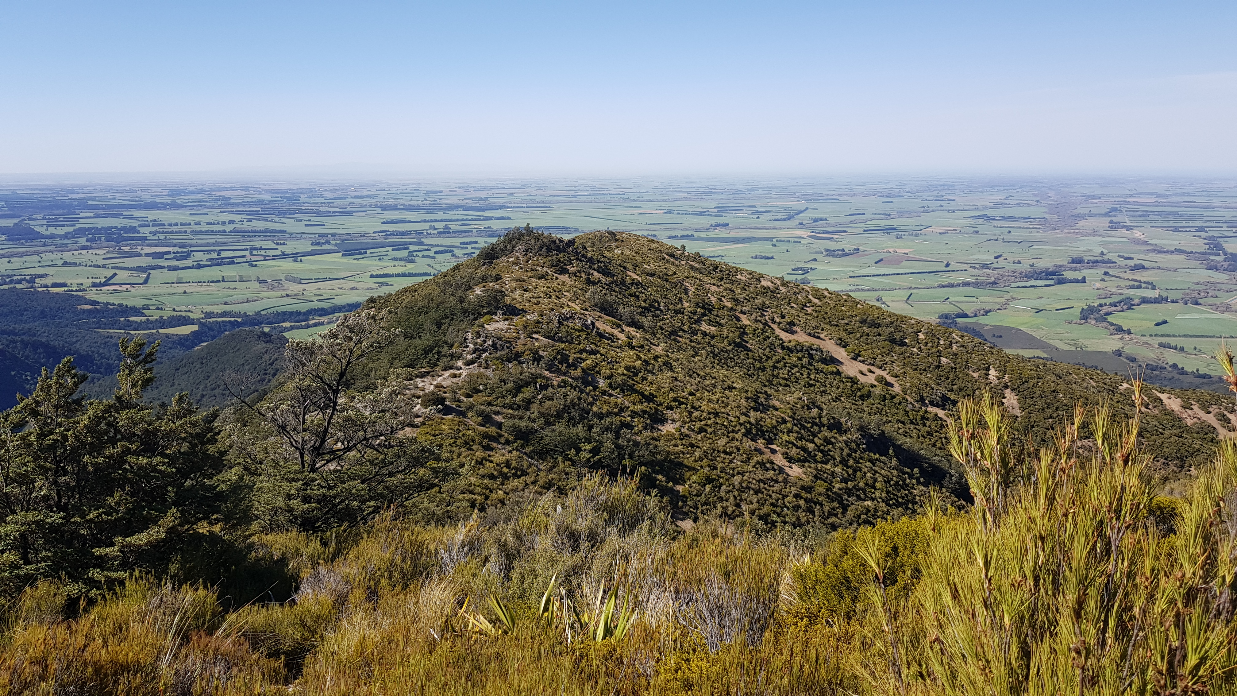 The South Face Track Mt Somers
