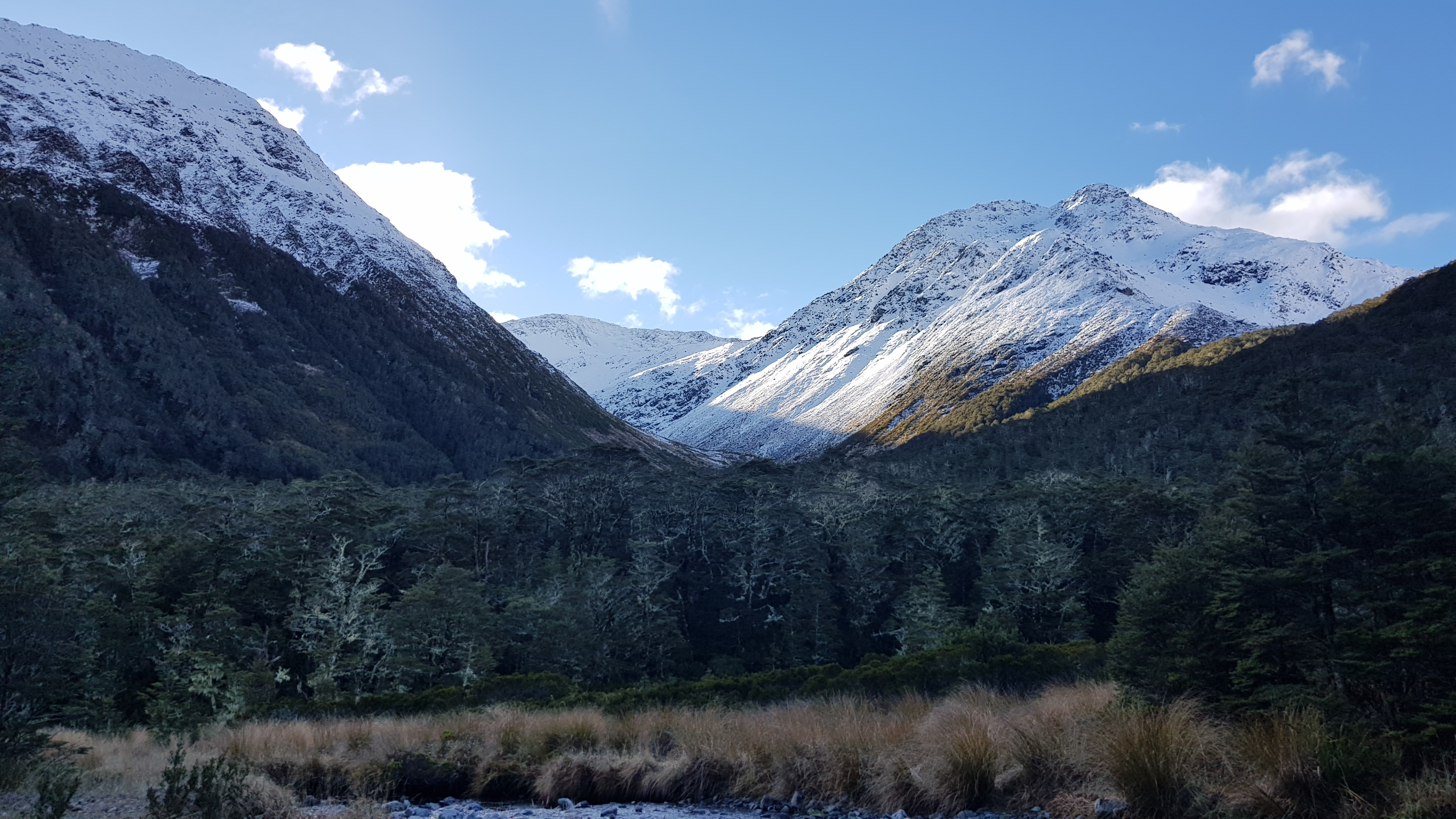 Views from Ada Pass hut