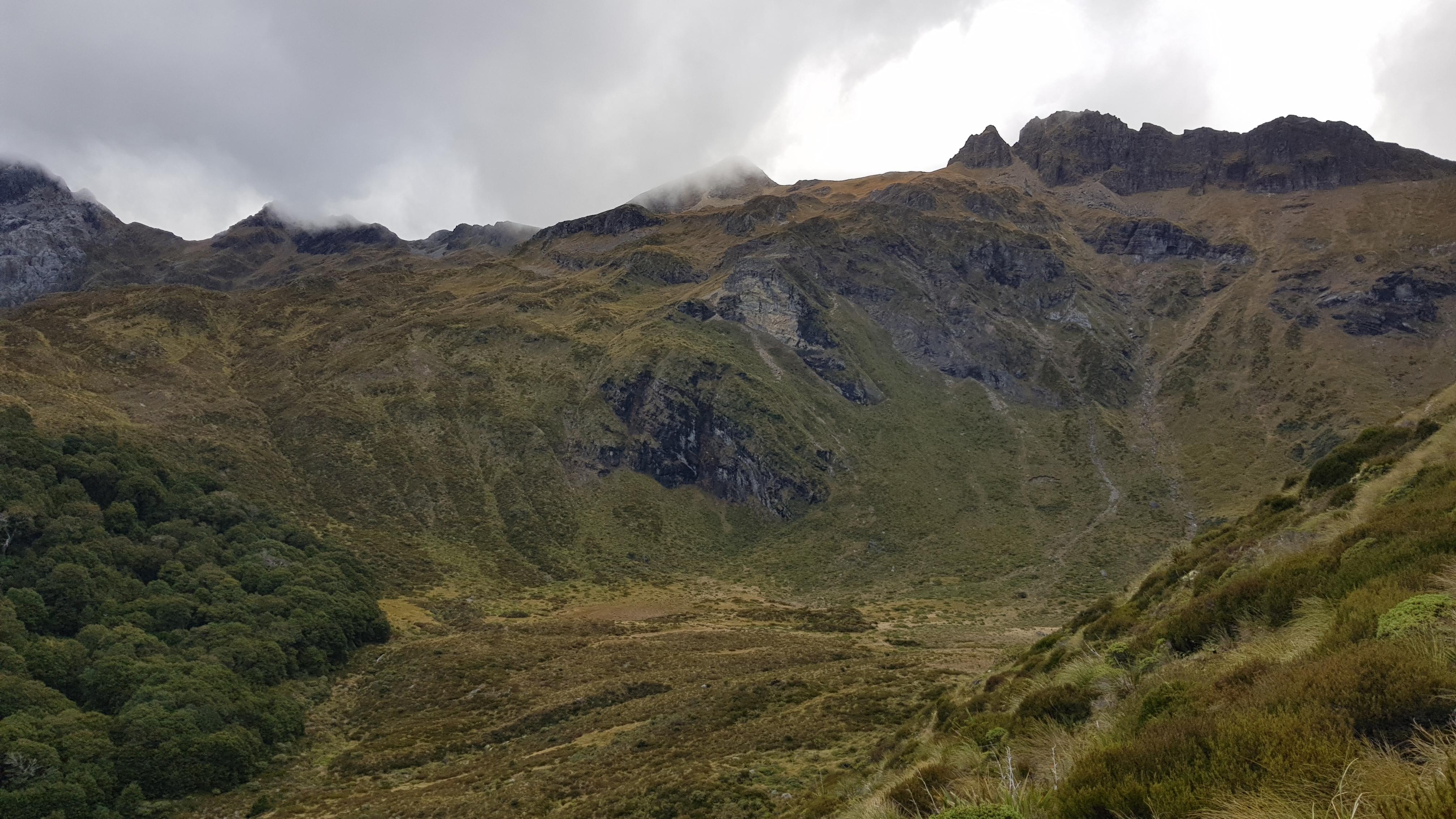 Ellis Basin to the Arthur Range