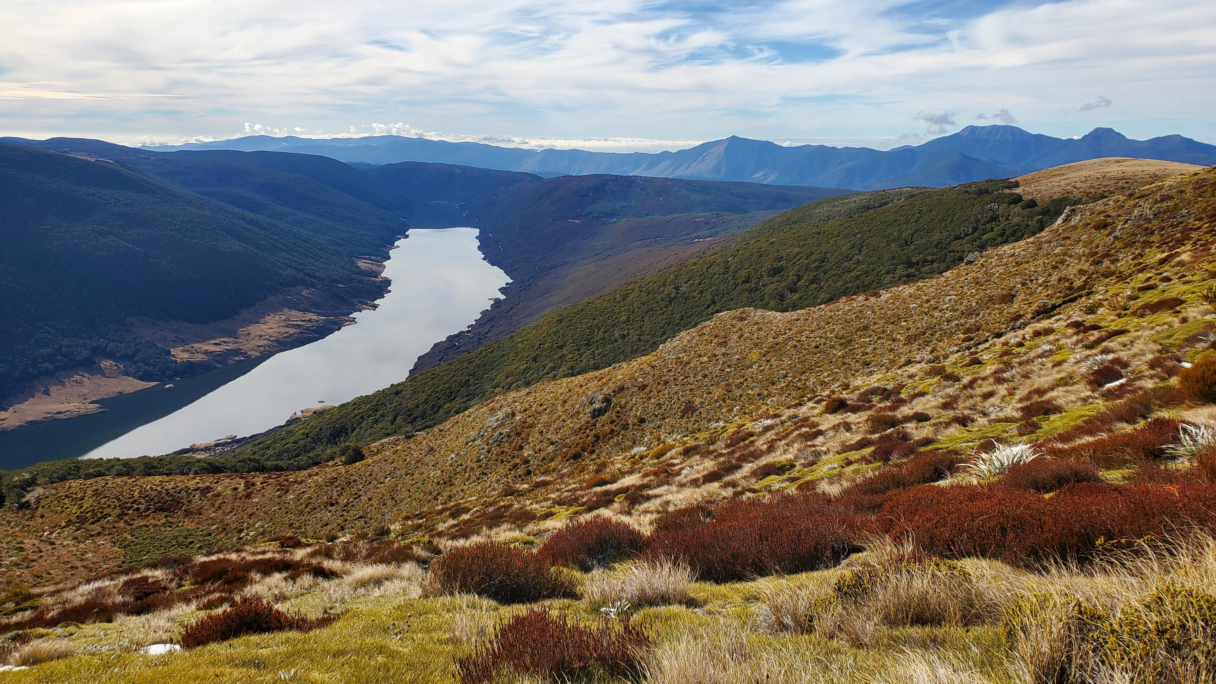 Cobb Reservoir and ridge